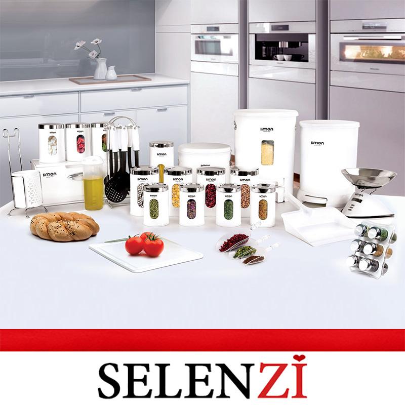 سرویس آشپزخانه 36 پارچه سفید گرد
